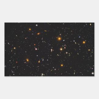 The Hubble Ultra-Deep Field Rectangular Sticker