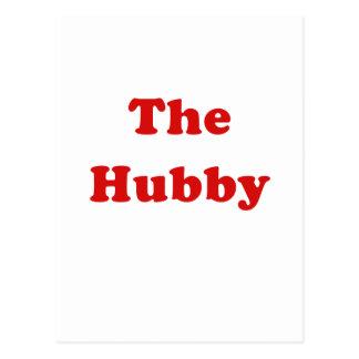 The Hubby Postcard