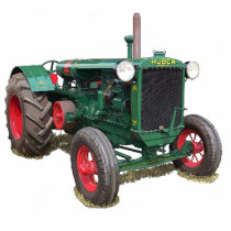 The Huber HK tractor Cutout