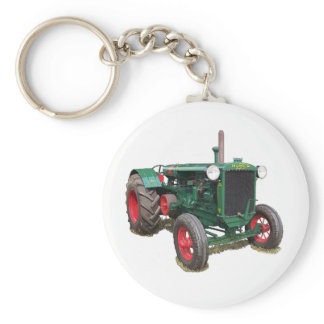The Huber HK tractor Keychain