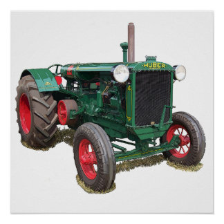 The Huber HK tractor Poster