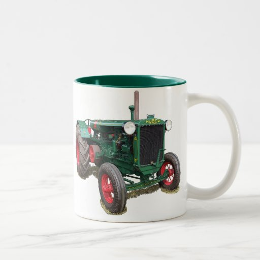 The Huber HK tractor Two-Tone Coffee Mug
