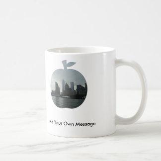 The Hudson River Big Apple Design Custom Mug