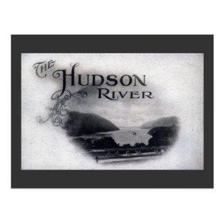 The Hudson River, New York, 1921 Vintage Postcard