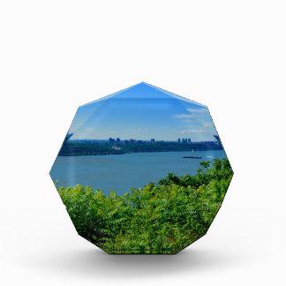 The Hudson River with NYC Acrylic Award