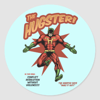 The Hugster Sticker
