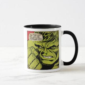 """The Hulk """"Challenge"""" Comic Panel Mug"""