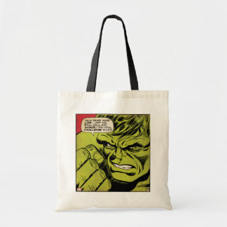 "The Hulk ""Challenge"" Comic Panel Tote Bag"