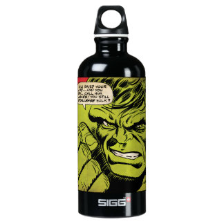 "The Hulk ""Challenge"" Comic Panel Water Bottle"