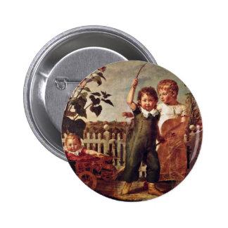 The Hülsenbeck Children By Runge Philipp Otto 2 Inch Round Button