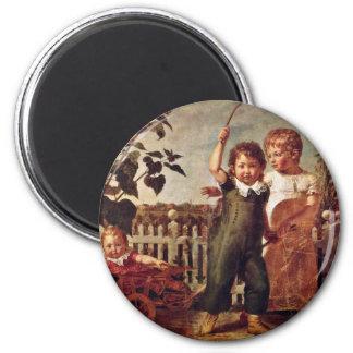 The Hülsenbeck Children By Runge Philipp Otto Fridge Magnets