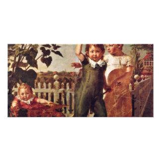 The Hülsenbeck Children By Runge Philipp Otto Photo Card
