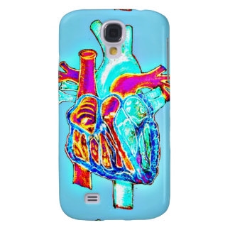 The Human Condition Neon Heart Samsung Phone Case