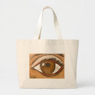 The Human Eye Tote Bags