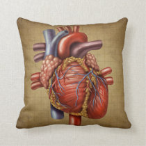 The Human Heart Pillow