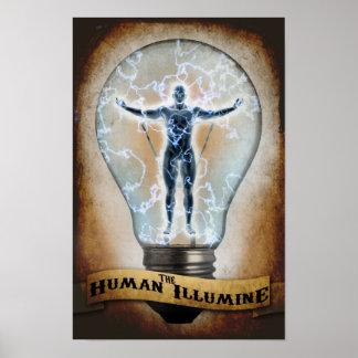 The Human Illumine Poster