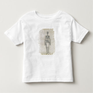 The Human Skeleton, anterior view, from the series Tees