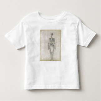 The Human Skeleton, anterior view, from the series T Shirts