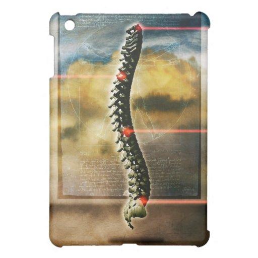 The human spine iPad mini cases