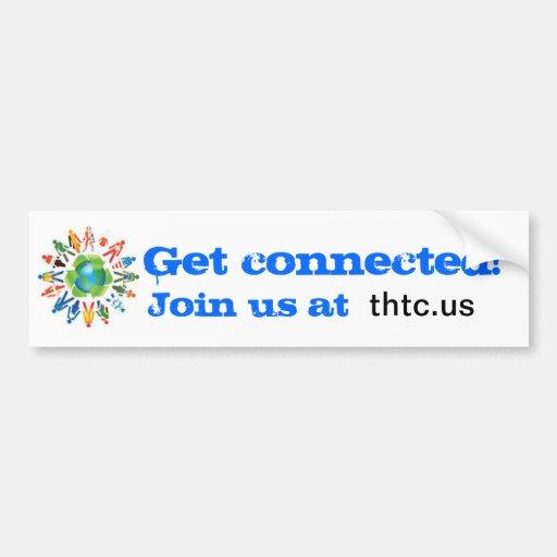 The Human Touch Bumper Sticker