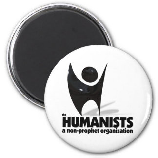 The Humanists 2 Inch Round Magnet