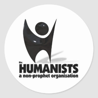 The Humanists Classic Round Sticker