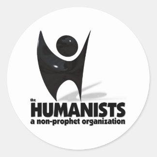 The Humanists Round Sticker
