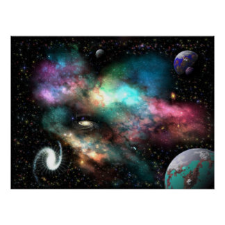 The Humanoid Nebula Posters
