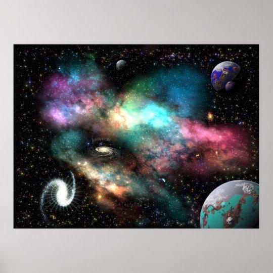 The Humanoid Nebula Poster