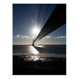 The Humber Bridge Postcard