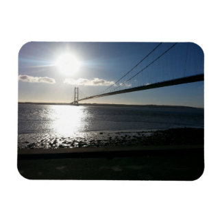 The Humber Bridge Rectangular Photo Magnet