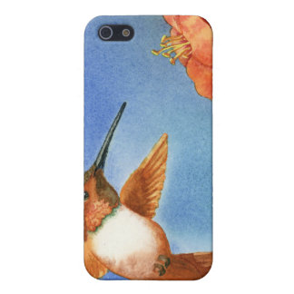 The Hummer - hummingbird Case For iPhone SE/5/5s