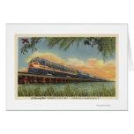 The Humming Bird Railroad Train Card