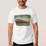 The Humming Bird Railroad Train T Shirt