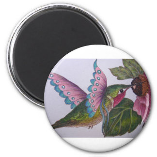 """""""The Humming-Faery"""" Magnet"""