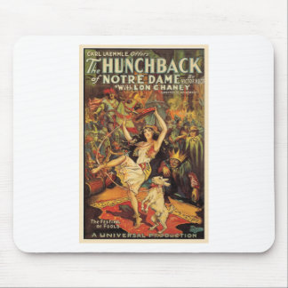 THE HUNCHBACK OF NOTRE DAME by Philip J. Riley Mouse Pad