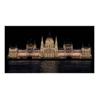 The Hungarian Parliament Building, Budapest Poster