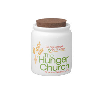 The Hunger Church Jar Candy Jars