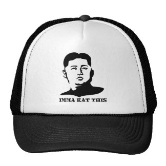 the hungry dictator trucker hat