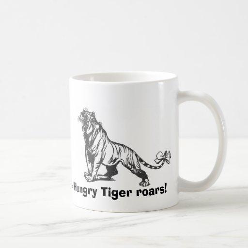 The Hungry Tiger roars! Coffee Mugs