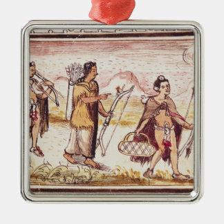 The Hunt, 1579 Christmas Tree Ornament