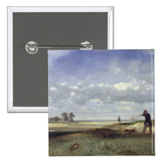 The Hunt, 1847 Pinback Button