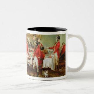 The Hunt Breakfast, Bachelor's Hall, 1836 (oil on Two-Tone Coffee Mug