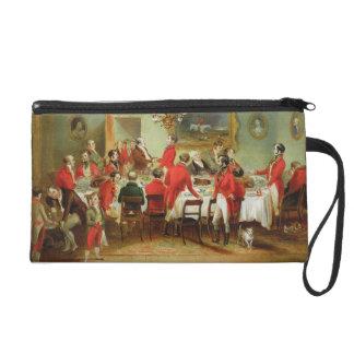 The Hunt Breakfast, Bachelor's Hall, 1836 (oil on Wristlet Purse