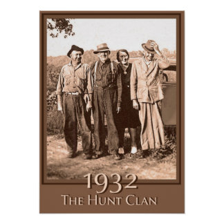 The Hunt Clan 1932 Poster