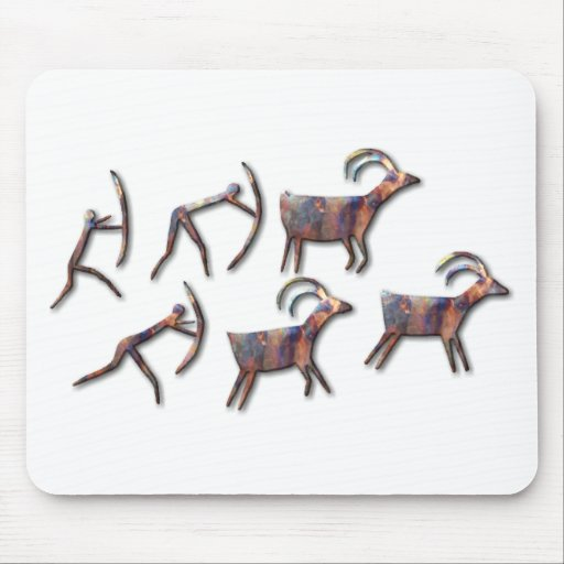 The Hunt-copper Mouse Pad