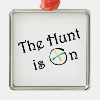 The Hunt Is On Christmas Tree Ornaments