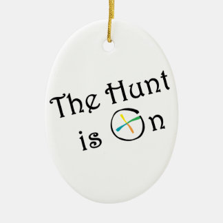 The Hunt Is On Christmas Ornament
