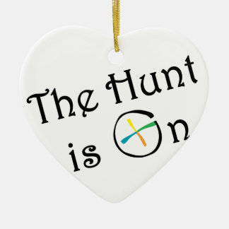 The Hunt Is On Christmas Tree Ornament