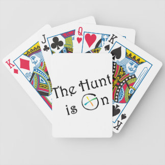 The Hunt Is On Bicycle Card Deck